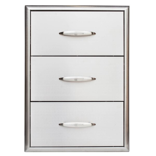3 Drawer Cabinet by Barbeques Galore