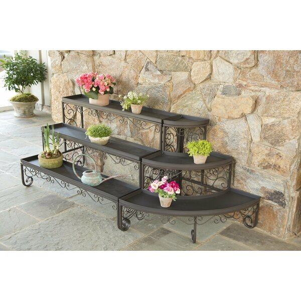 Straight Three-Level Plant Stand by Plow & Hearth