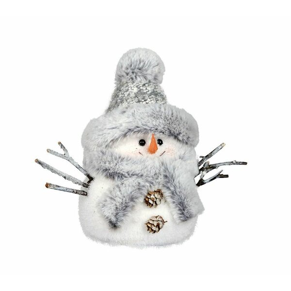 Small Snowman Figurine by The Holiday Aisle