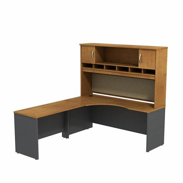 Series C L-Shape Executive Desk with Hutch