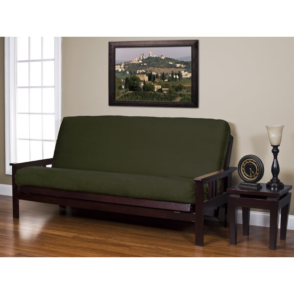 Arsenal Box Cushion Futon Slipcover By Darby Home Co