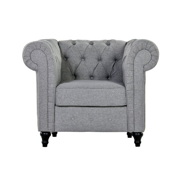 Balanchine Chesterfield Chair by Charlton Home Charlton Home
