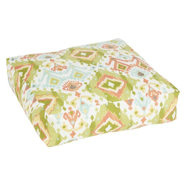 Fealty Green Indoor/Outdoor Euro Pillow by World Menagerie