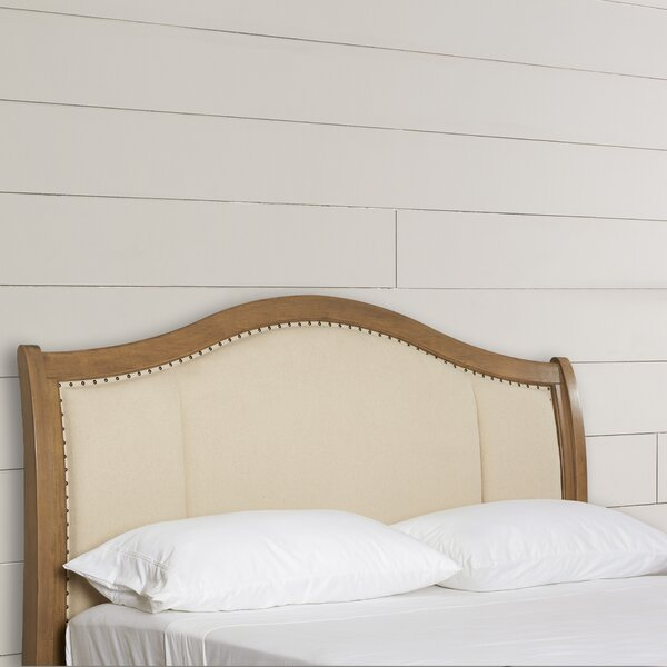 Duck Island Upholstered Panel Headboard by Beachcrest Home