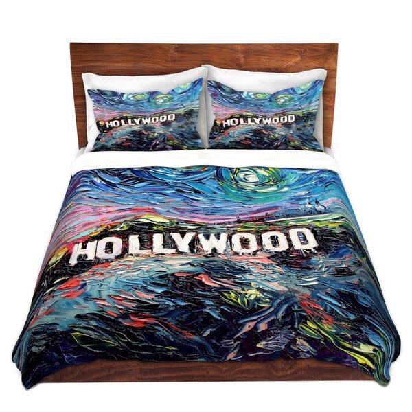Markovich Aja Ann Van Gogh Never Saw Hollywood Microfiber Duvet Covers