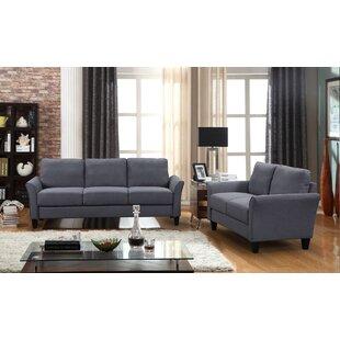 2 Piece Polyester-Blend Living Room Set by Red Barrel Studio®