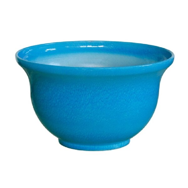 Van Andel Round Resin Pot Planter by Charlton Home