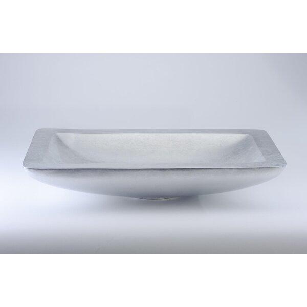 Vogue Rectangular Vessel Bathroom Sink by Maestro Bath