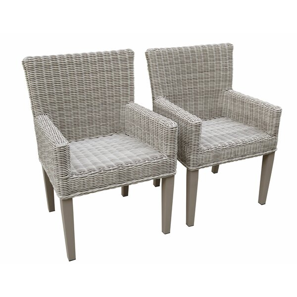 Abordale Patio Dining Chair (Set Of 2) By Breakwater Bay by Breakwater Bay Best #1