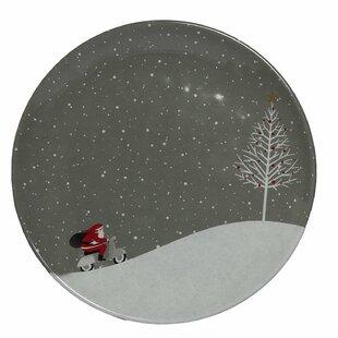 Santa Comes Home Melamine Salad Plate (Set of 36)  sc 1 st  Wayfair & Acrylic u0026 Melamine Christmas Plates u0026 Saucers Youu0027ll Love