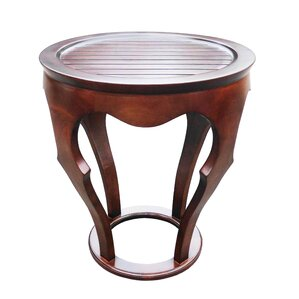 Baronnes Curved End Table by D-Art Collection