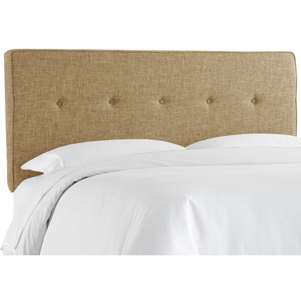 Antonelli Tufted Upholstered Panel Headboard by Brayden Studio