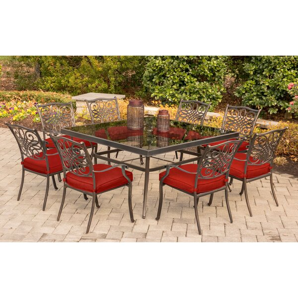 Retzlaff Traditions 9 Piece Dining Set by Astoria Grand