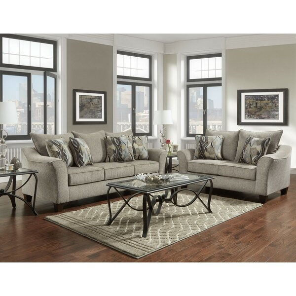 Hartsock 2 Piece Living Room Set by Alcott Hill