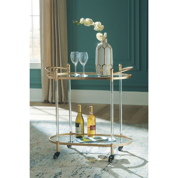 Rafferty Bar Cart by Mercer41 Mercer41