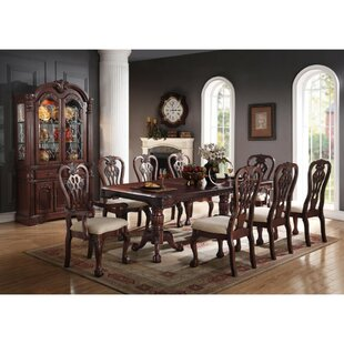 Best Price Yip Artfully Solid Wood Dining Table By Astoria Grand