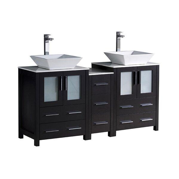 Torino 60 Double Bathroom Vanity Set by Fresca