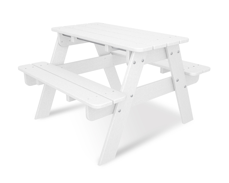 POLYWOOD® Kids Rectangular Picnic Table U0026 Reviews | Wayfair