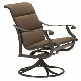Montreux Swivel Patio Dining Chair by Tropitone