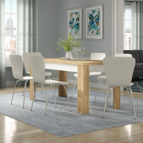 Algedi 7 Piece Dining Set by Mercury Row