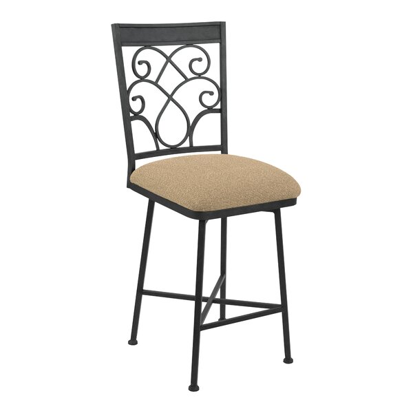 Cowans Swivel Bar Stool by Fleur De Lis Living