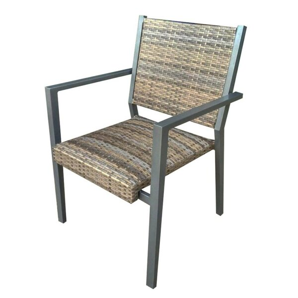 Paddington Stacking Outdoor Patio Dining Chair by Charlton Home