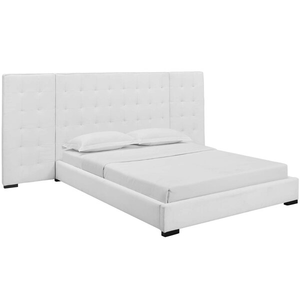 Currin Queen Upholstered Platform Bed by Mercer41