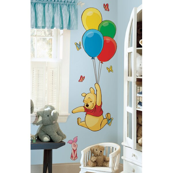 Disney Pooh and Piglet Room Makeover Wall Decal by Wallhogs