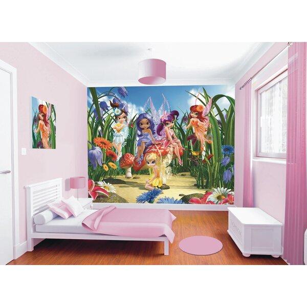 Walltastic Wall Art Magical Fairies Wall Mural by WallPops!