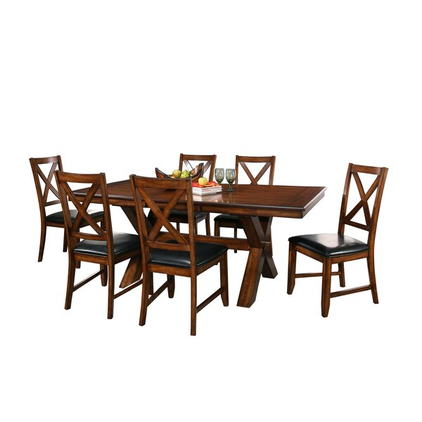 Lockwood 7 Piece Extendable Dining Set by Red Barrel Studio Red Barrel Studio