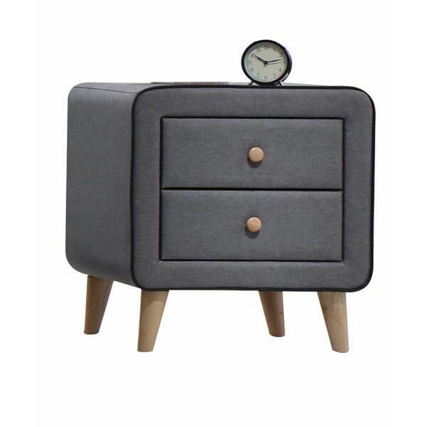 Bybee 2 Drawer Nightstand by Corrigan Studio