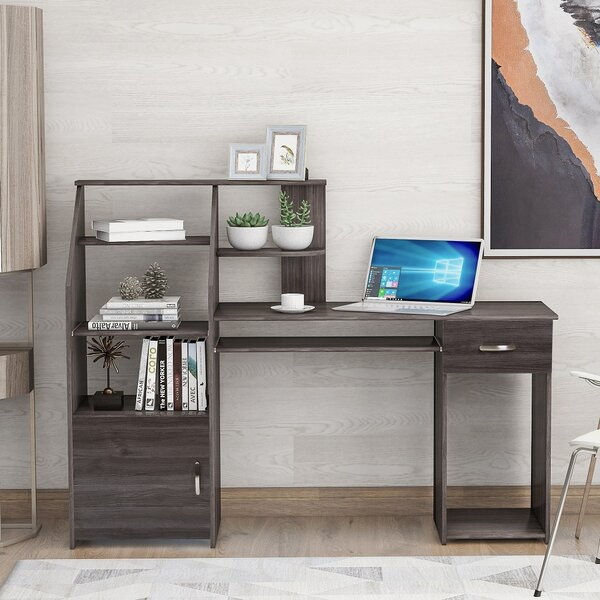 Awatif Desk with Hutch