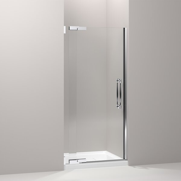 Finial 35.75 x 72.25 Pivot Shower Door by Kohler
