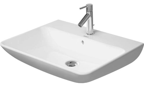Me by Starck Ceramic 26 Wall Mount Bathroom Sink with Overflow by Duravit