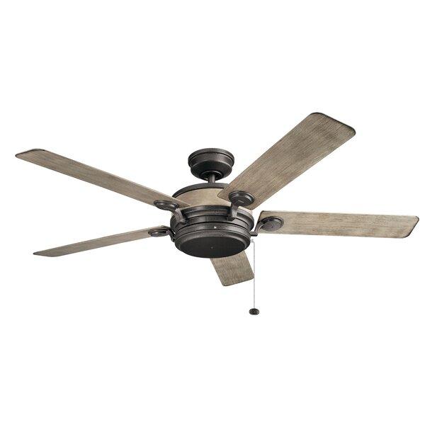 60 Sherley 5 Blade Outdoor Ceiling Fan by 17 Stories