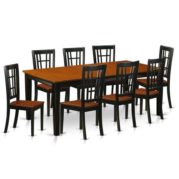 Pilger 9 Piece Dining Set by August Grove