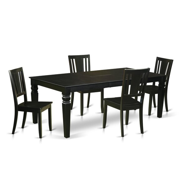 Aprea 5 Piece Dining Set by Darby Home Co