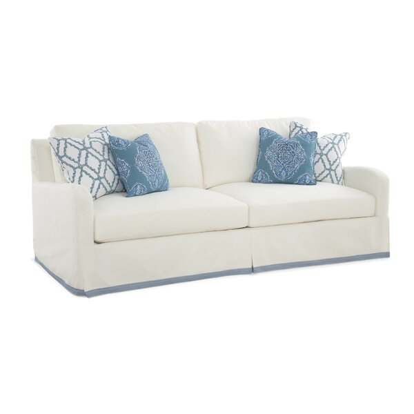 Halsey Box Cushion Sofa Slipcover by Braxton Culler