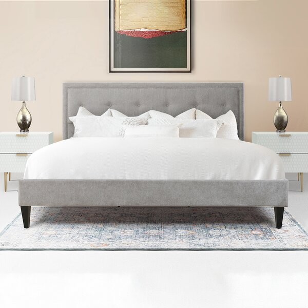 Lexy Upholstered Platform Bed by Jennifer Taylor