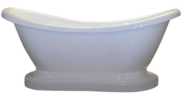 68 x 30 Freestanding Soaking Bathtub by Cambridge Plumbing