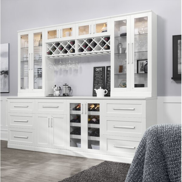 Home Bar 8 Piece Shaker Style by NewAge Products