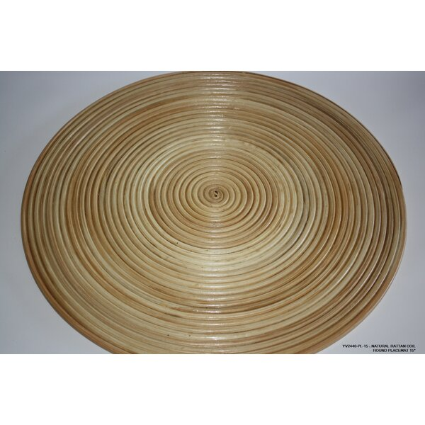 Rattan Coil Placemat (Set of 4) by Desti Design