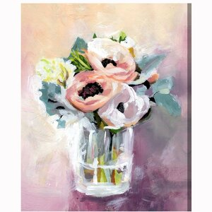 'Natura Mora' Painting Print on Wrapped Canvas by Willa Arlo Interiors