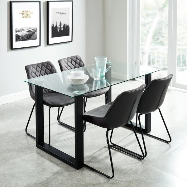 Lorri Contemporary 5 Piece Dining Set by Wrought Studio