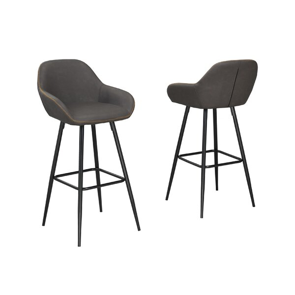 Burciaga 29 Bar Stool (Set of 2) by Brayden Studio