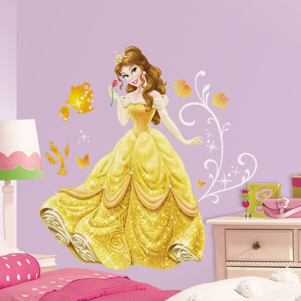 Disney Princess Belle Giant Wall Decal by Room Mates