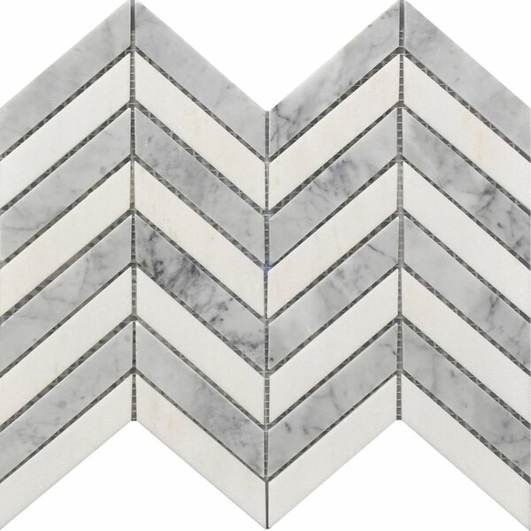 Marbella 1 x 4 Marble Mosaic Tile