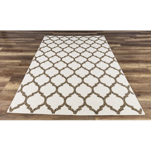 Ramsay High-Quality Brown Indoor/Outdoor Area Rug by Charlton Home