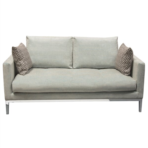 Chateau Loose Pillow Back Loveseat by Diamond Sofa