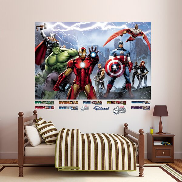 RealBig Marvel Avengers Assemble Wall Decal by Fathead
